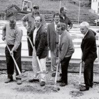 Umbaubeginn Eisstadion